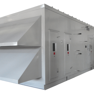 AHU with Ammonia Cooling System