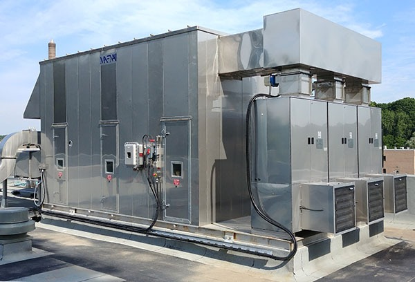 Odor Control Unit for Greenway WWTP